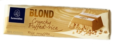 50g Blond Crunchy Puffed Rice Chocolate Bar