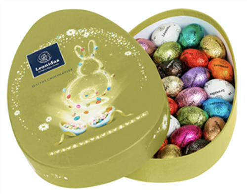 Easter Box - Green with Eggs