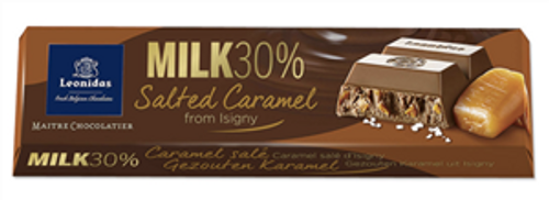 50g Milk Salted Caramel Chocolate Bar