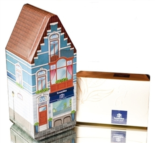 Belgian Tin House with 500g (1.1 lb) ballotin