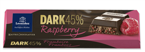 50g Dark Raspberry Chocolate Bar