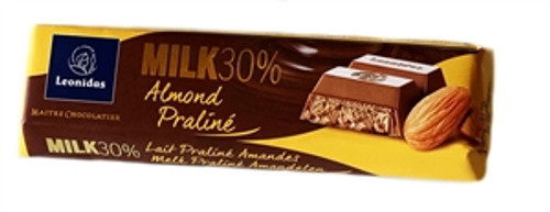 50g Milk Almond Praline Chocolate Bar