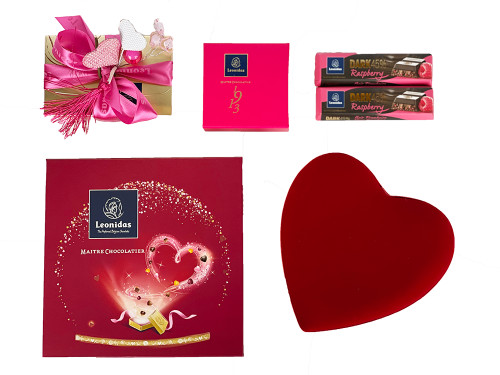 Valentine's Chocolate Gift Basket