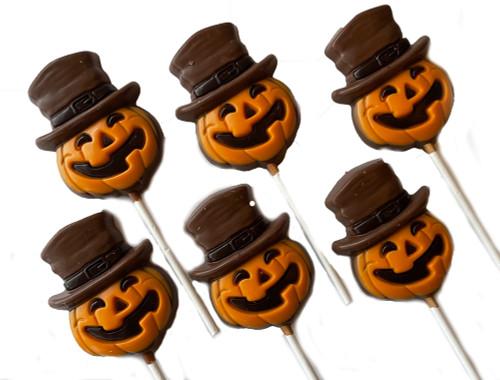 Halloween Chocolate Lollipops (6)