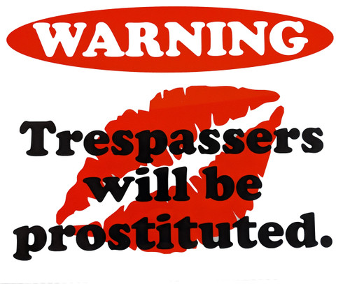 Dye Sublimation Printing - No Trespassing Signs - IndCom