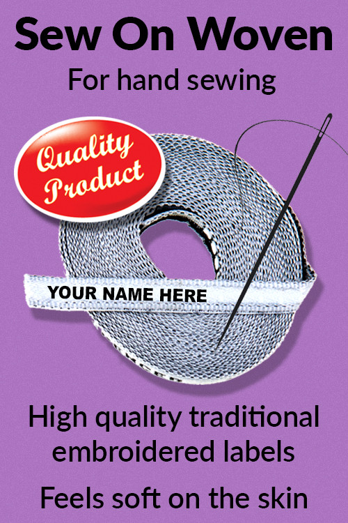 Sew On Woven Labels