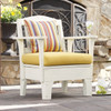 Pine Adirondack Style Chair in the Westport Collection from Uwharrie Chair Company in White