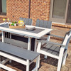 Lake Shore Collection Chair - Dining Set on Porch