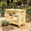 Pine Outdoor Serving Island in the Veranda Collection from Uwharrie Chair Company