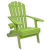 Outer Banks Value Line Adirondack Chair - Lime Green