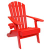 Outer Banks Value Line Adirondack Chair - Bright Red