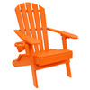 Outer Banks Value Line Adirondack Chair - Bright Orange
