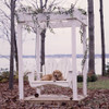Polymer Swing in the Fanback Collection from Uwharrie Chair Company in White