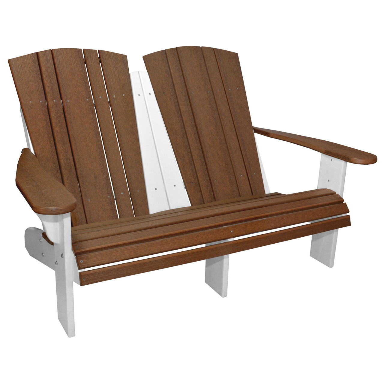 Cool Harbor Collection Fixed Double Adirondack Chair Bralicious Painted Fabric Chair Ideas Braliciousco