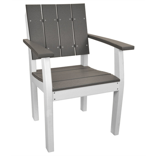Lake Shore Collection Chair - Distressed Gray and White