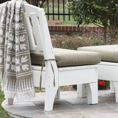 Pine Sectional Side Unit in the Westport Collection from Uwharrie Chair Company in White