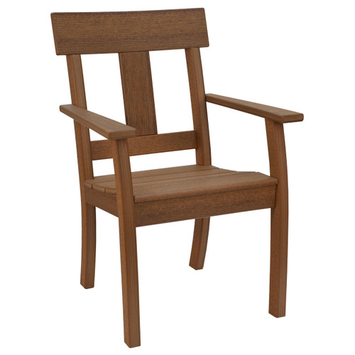 Montauk Collection Chair - Antique Mahogany