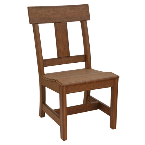Montauk Collection Side Chair - Antique Mahogany