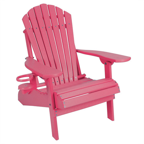 Stupendous Outer Banks Child Size Folding Adirondack Chair With Cup Holder Andrewgaddart Wooden Chair Designs For Living Room Andrewgaddartcom