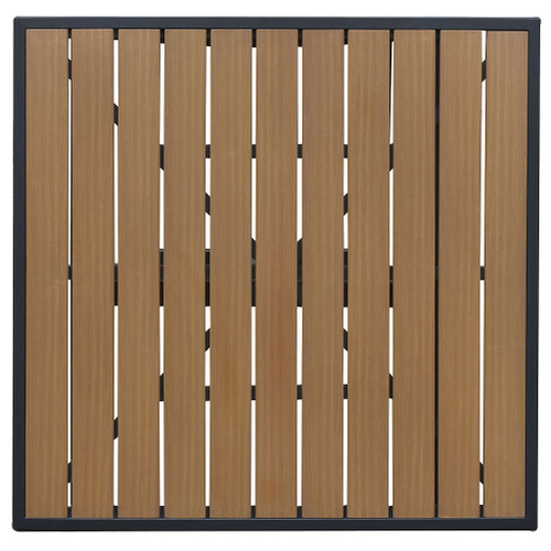 Atlantic Collection Teak-Inspired Table Top - Square