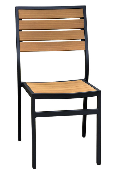 Atlantic Collection Teak-Inspired Side Chair