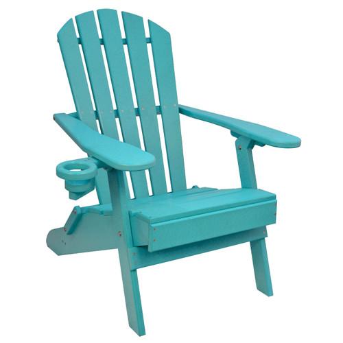 Outer Banks Value Line Adirondack Chair - Aruba Blue