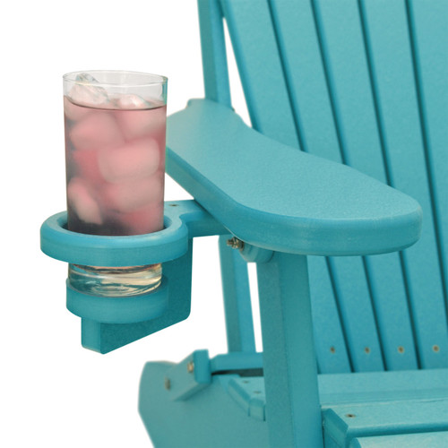 Amazing Outer Banks Deluxe Oversized Poly Lumber Folding Adirondack Chair With Cup Holders Available In 18 Colors Download Free Architecture Designs Embacsunscenecom