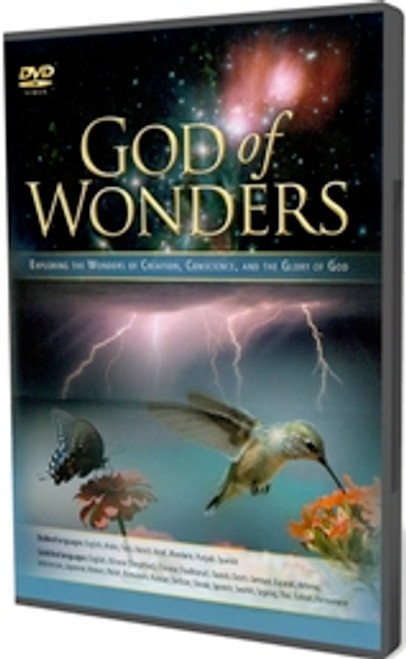 God of Wonders - Multi-language DVD