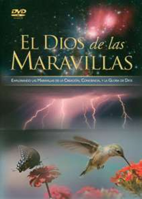 God of Wonders Spanish DVD