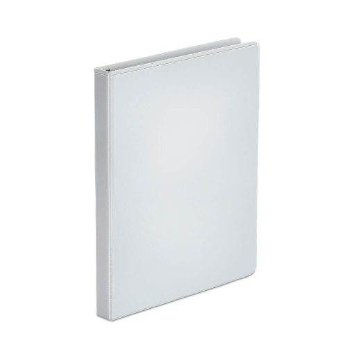 """Binders: White View Binder with 1/2"""" Round Rings"""