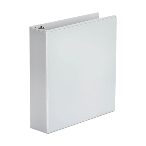 """Binders: White View Binder with 2"""" Round Rings"""
