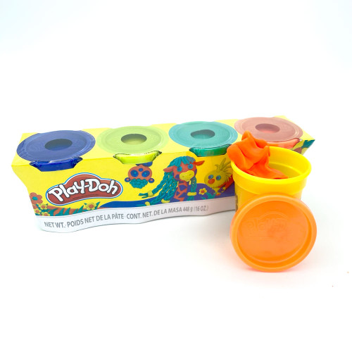 Crafts: Play-Doh 4 Pack (Assorted)