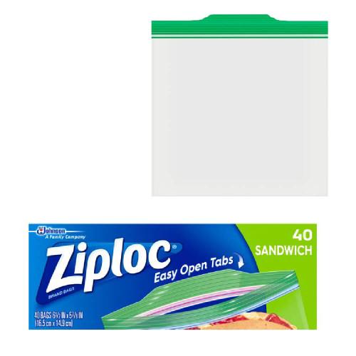 Teacher/Classroom: Ziploc Sandwich Bags 40ct