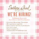 WE'RE HIRING! Fulfillment Associate - Part-Time or Full-Time Position