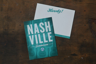 Nashville Tennessee Card