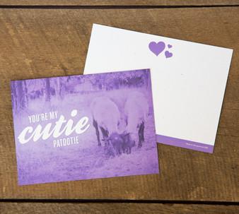 You're My Cutie Patootie Card