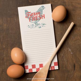 Farm Fresh Notepad