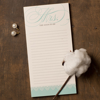 Mrs. Soon-to-Be Notepad