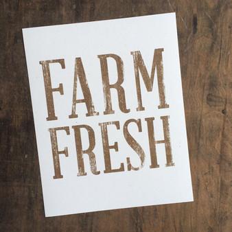 Farm Fresh Print