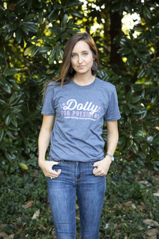 Dolly for President - ADULT - Navy