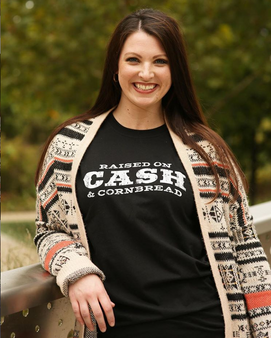 Raised On Cash And Cornbread - Shirt