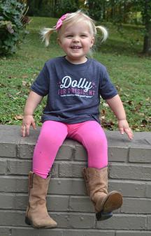 Dolly For President - TODDLER - Navy