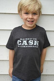 Raised On Cash And Cornbread - Toddler Shirt