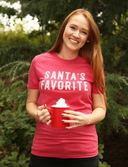 Santa's Favorite Red Shirt