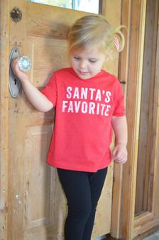 Santa's Favorite Toddler Shirt