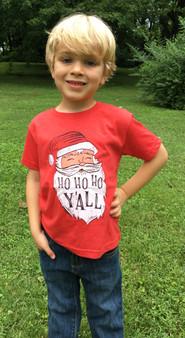 HO HO HO Y'ALL Toddler Shirt