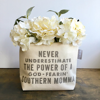 Never Underestimate The Power Of A God-Fearin' Southern Momma  Zipper Pouch