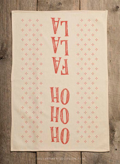 Pre-Order - Ho Ho Ho Fa La La Kitchen Towel