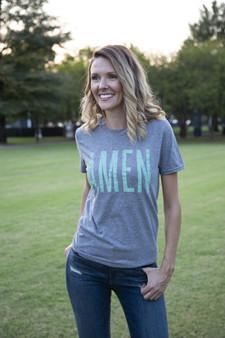 Amen Heather Grey Shirt