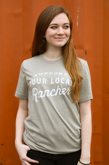 Support Your Local Rancher - Heather Stone t-shirt
